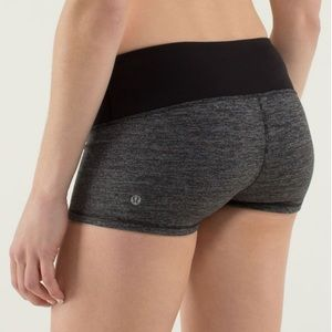Lululemon Boogie Short in Heathered Black 8